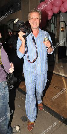 Tatler Pyjama Party at Claridge's Hotel Mayfair London Hugo Burnand