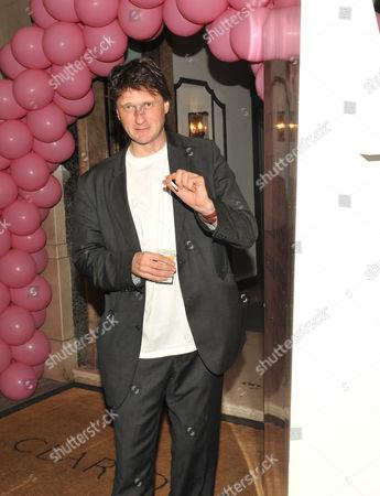 Tatler Pyjama Party at Claridge's Hotel Mayfair London Lord Johnson Somerset