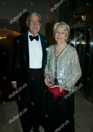 The 2011 Man Booker Prize For Fiction at the Guildhall City of London Lord & Lady Kenneth Baker