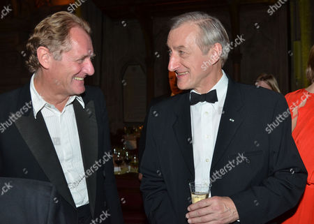 The 2011 Man Booker Prize For Fiction at the Guildhall City of London This Year's Winner Julian Barnes with Andrew Motion (l)