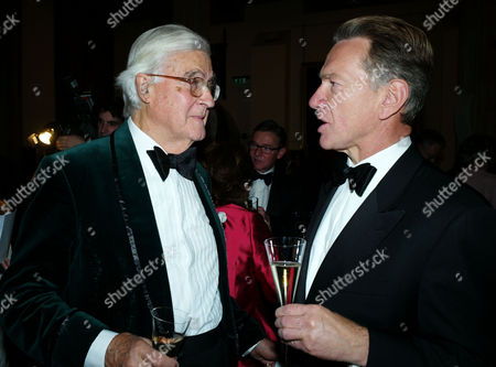 The 2011 Man Booker Prize For Fiction at the Guildhall City of London Lord Kenneth Baker & Michael Portillo