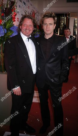 The British Book Awards at the Grosvenor House Hotel Park Lane London Charlie Boorman and Ewan Mcgregor