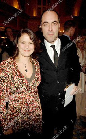 Stock Picture of 2006 Laurence Olivier Theatre Awards at the Park Lane Hilton Hotel James Nesbitt with His Wife Sonia Forbes-adam