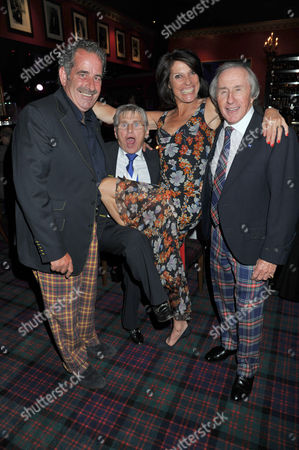 The Johnny Walker Blue Label Great Scot Awards 2011 at Boisdale of Canary Wharf Sam Torrance Willie Carson Suzanne Danielle & Sir Jackie Stewart