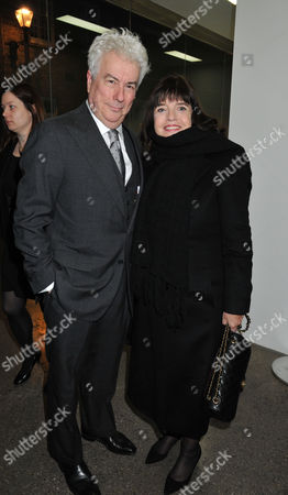 Stock Photo of The Launch of Louise Fennell's Debut Novel 'Dead Rich' at White Cube Gallery Mason's Yard Off Duke Street St James's London Ken and Barbara Follett