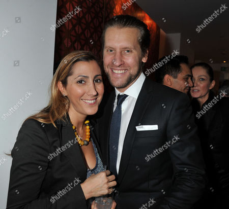 The Launch of Luxury Men's Tailoring Line Spencer Hart at Selfridge's in Oxford St London Jake Parkinson-smith & His Wife Samira Parkinson-smith