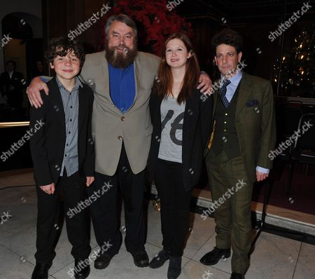 The Prince's Foundation For Children & the Arts Carols at St Jame's Piccadilly Mayfair London Daniel Roche Brian Blessed Bonnie Wright & Hamish Clark