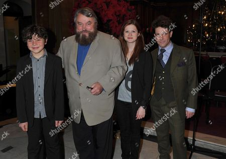 Stock Image of The Prince's Foundation For Children & the Arts Carols at St Jame's Piccadilly Mayfair London Daniel Roche Brian Blessed Bonnie Wright & Hamish Clark