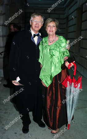 Stock Photo of The Royal Academy's Triennial Summer Ball at the Royal Academy Piccadilly London Sir Nicholas & Lady Grimshaw President of the Royal Academy