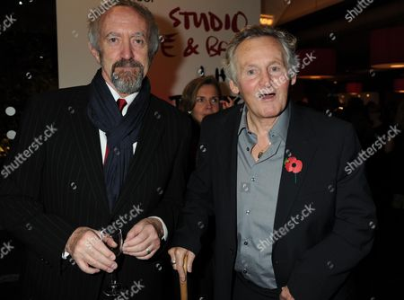 The Theatrical Management Association Theatre Awards at the Lyric Hammersmith Jonathan Pryce & Max Stafford -clark