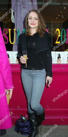 Stock Picture of The Uk Paperback Launch of Blow by Blow Sponsored by Swarovski at Selina Blow's Shop at Ellis Street Chelsea London Lady Bianca Eliot