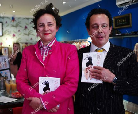 The Uk Paperback Launch of Blow by Blow Sponsored by Swarovski at Selina Blow's Shop at Ellis Street Chelsea London Selina Blow and Her Brother Detmar Blow