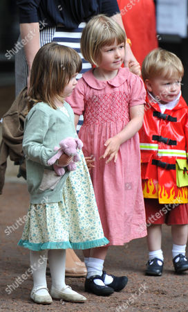 Editorial photo of Trooping of the Colour - Outside Clarence House - 11 Jun 2011