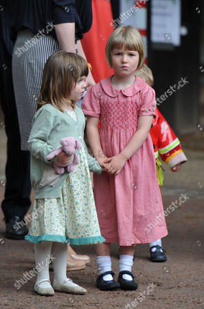 Trooping of the Colour - Outside Clarence House Eliza Lopes Waits to See Her Grandmother (l)