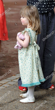 Stock Photo of Trooping of the Colour - Outside Clarence House Eliza Lopes Waits to See Her Grandmother