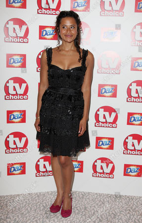 Tv Choice Awards Arrivals at the Dorchester Hotel Angel Coulby