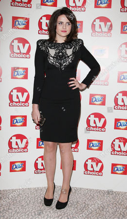 Tv Choice Awards Arrivals at the Dorchester Hotel Emer Kenny
