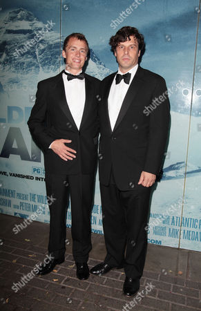 Uk Charity Premiere of 'The Wildest Dream' at the Bfi Imax Cinema Waterloo Leo Houlding with the Director Anthony Geffen