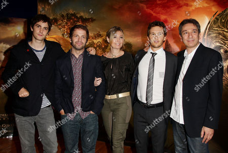 Uk Premiere of 'Legend of the Guardians the Owls of Ga'hoole in 3d' at the Odeon Westend Jim Sturgess Zack and Debbie Snyder Ryan Kwanten and Zareh Nalbandian