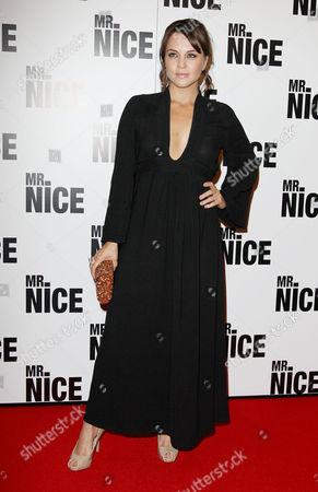 Uk Premiere of 'Mr Nice' at the Cineworld Haymarket Ania Sowinski