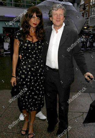 the Uk Premiere of the Film 'The Bourne Ultimatum' at the Odeon Leicester Square Helena Christensen and Duncan Heath