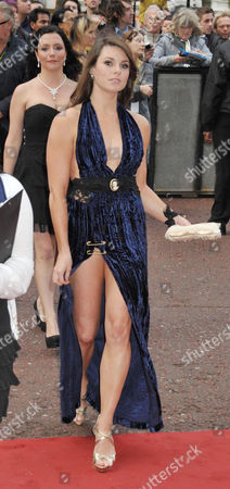 Stock Photo of Uk Premiere of 'The Kid' at the Odeon West End Alison Carroll