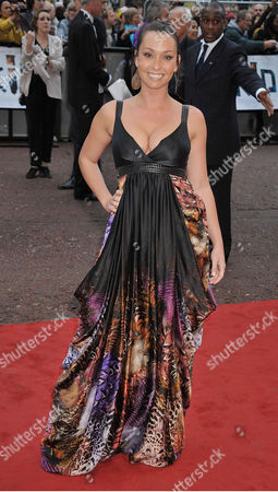 Uk Premiere of 'The Kid' at the Odeon West End Lucinda Rhodes-flaherty