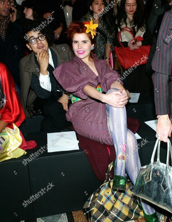 Red Label Fashion Show During London Fashion Week at the Royal Courts of Justice the Strand Paloma Faith with Her Boyfriend Josh Weller