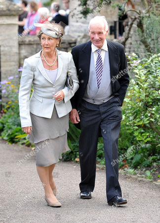 Stock Image of Wedding at the Church of St Peter and St Paul Northleach Cheltenham Patti and Charles Palmer-tomkinson