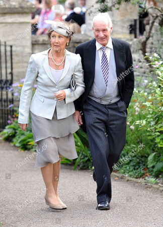 Wedding at the Church of St Peter and St Paul Northleach Cheltenham Patti and Charles Palmer-tomkinson