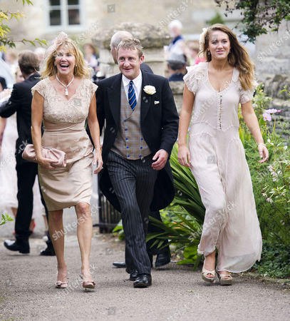 Wedding at the Church of St Peter and St Paul Northleach Cheltenham Mother of the Bride Eugenia Winwood