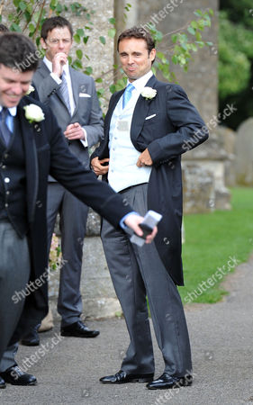 Stock Image of Wedding at the Church of St Peter and St Paul Northleach Cheltenham James Archer