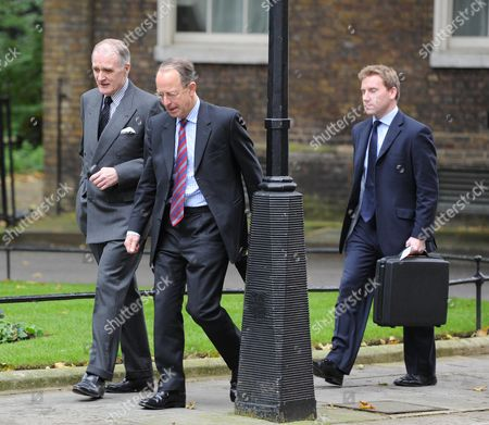Stock Photo of Weekly Cabinet Meeting at Number 10 Downing Street Westminster London Jock Stirrup