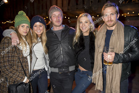Winter Wonderland Vip Night at Hyde Park Irene Forte Lady Melissa Percy Chelsy Davy and Jacobi Anstruther Gough Calthorpe