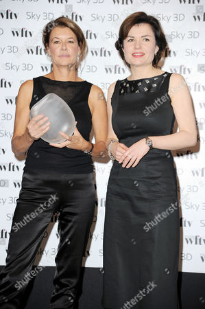 Women in Film and Television Awards at the Hilton Park Lane Jane Hill Presents the Bbc News & Factual Award to Alex Crawford