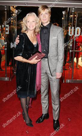 World Premiere of 'Made in Dagenham' at the Odeon Leicester Square Hayley Mills with Her Son Crispian Mills
