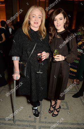 Camilla Lowther and Lisa Eldridge