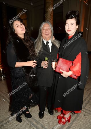 Simone Rocha, John Rocha and Odette Rocha
