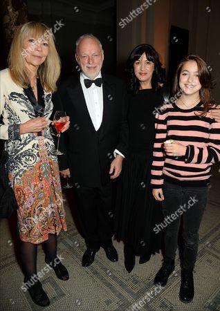 Penelope Tree, David Gilmour, Polly Samson