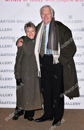 Editorial photo of 'Painters' Painters' exhibition private view, Saatchi Gallery, London, UK - 29 Nov 2016