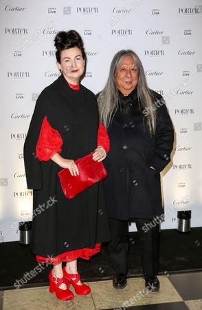 Stock Image of Odette Rocha and John Rocha