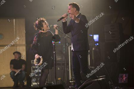 Deacon Blue - Lorraine McIntosh and Ricky Ross