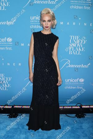 Editorial picture of U.S. Fund for UNICEF's 12th Annual Snowflake Ball, Arrivals, New York, USA - 29 Nov 2016