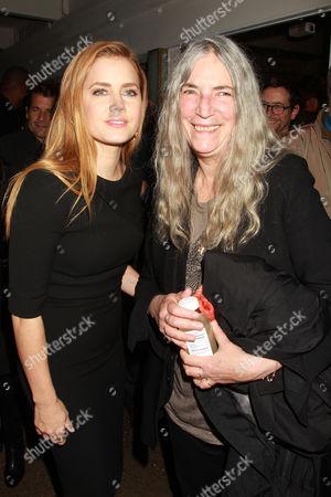 Amy Adams and Patti Smith