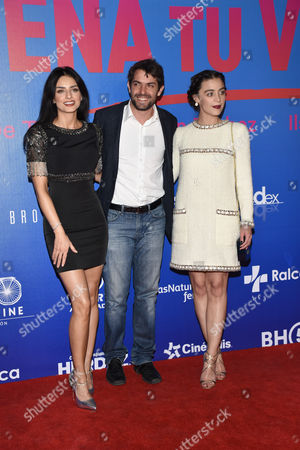 Stock Photo of Aislinn Derbez, Jose Maria de Tavira and Ilse Salas