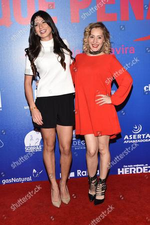 Daniela Noguez and Gabriela Carrillo