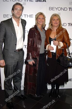 Premiere of 'Beyond the Sea' at the Vue Cinema Leicester Square Charlie Vaugh-leigh with Holly and Her Mother Joan Branson