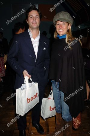 Launch Party of 'E is For Eating' at Kensington Place Davina Duckworth-chad with Her Husband Tom Barber