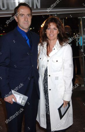 The Uk Premiere of 'Goal!' at the Odeon Leicester Square Angus Deayton and Lisa Mayer