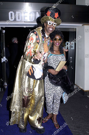 Stock Picture of 'Honest' Uk Premiere at the Odeon Leicester Square Bootsy Collins
